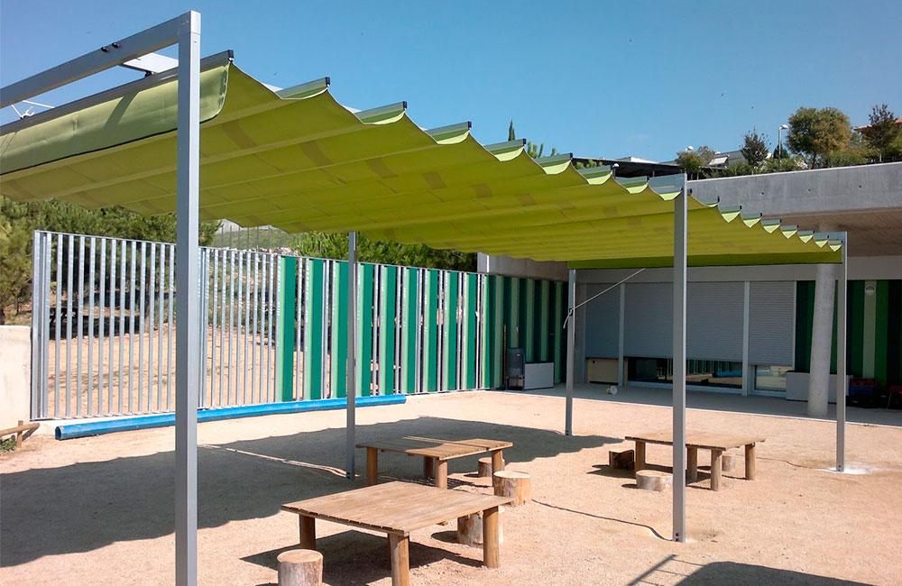 P rgolas de aluminio - Pergolas de aluminio para terrazas ...