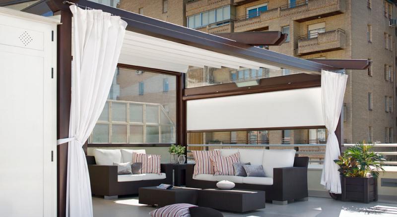 P rgolas para ticos - Cubrir terraza barato ...