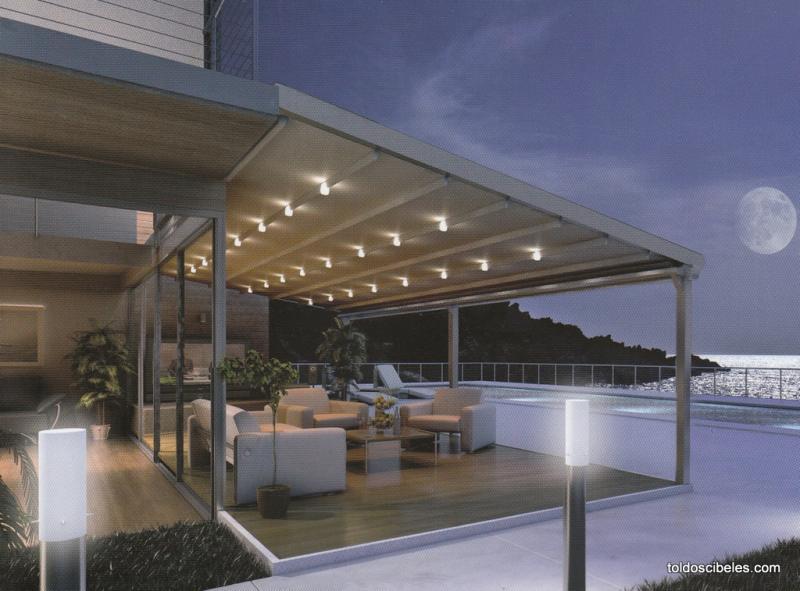 Pergolas para terrazas type for Toldos para terrazas en azoteas