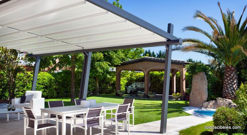 P rgolas para terrazas - Pergolas de aluminio para jardin ...