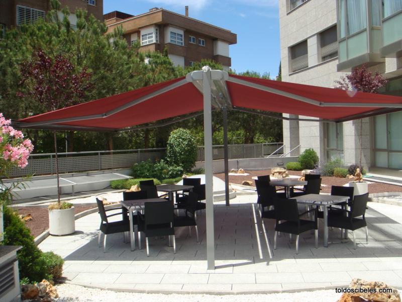 Toldos para bares for Toldos para terrazas economicos