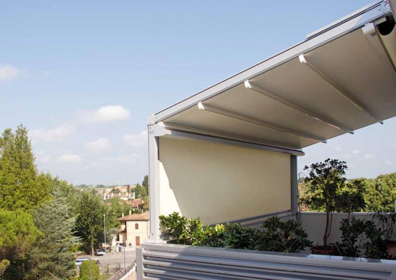 Aluminio para pergolas amazing pergola pergola de for Toldos para patios precios
